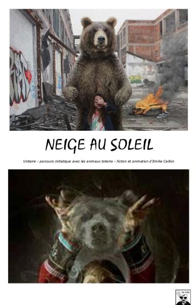 NEIGE AU SOLEIL - Affiche provisoire- EPWP
